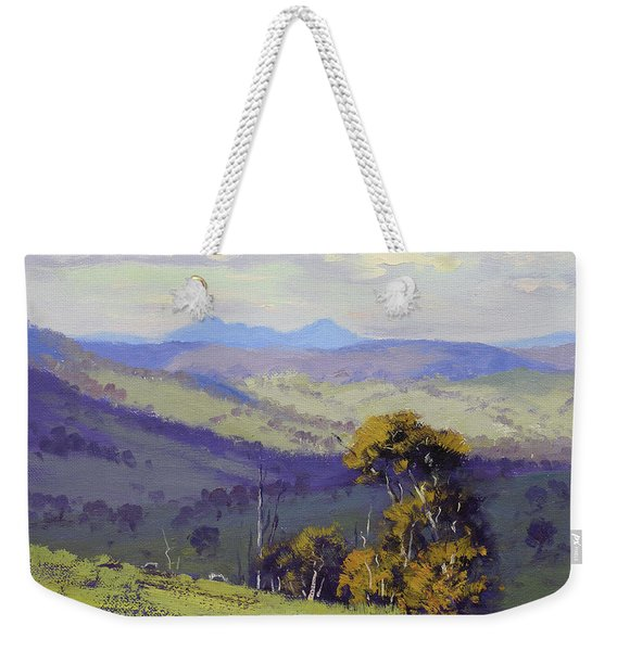 View To Kanimbla Weekender Tote Bag