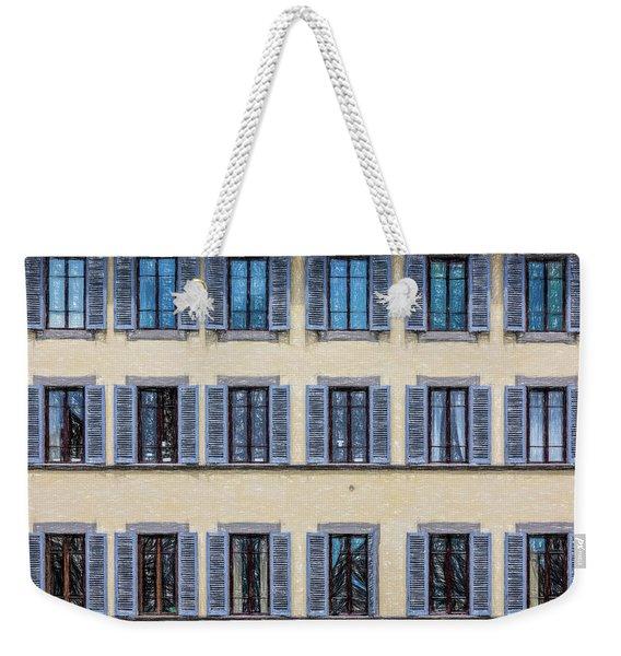 Wall Of Windows II Weekender Tote Bag