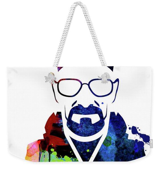 Walter Watercolor Weekender Tote Bag