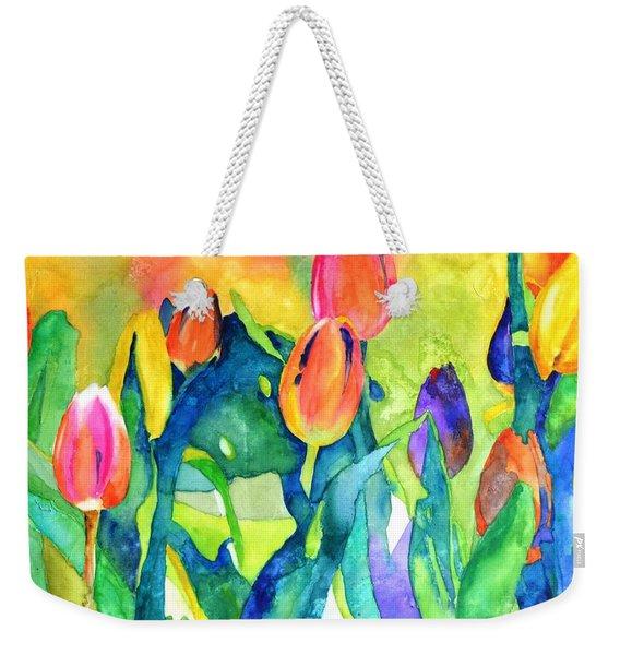 Welcome Spring #1 Weekender Tote Bag