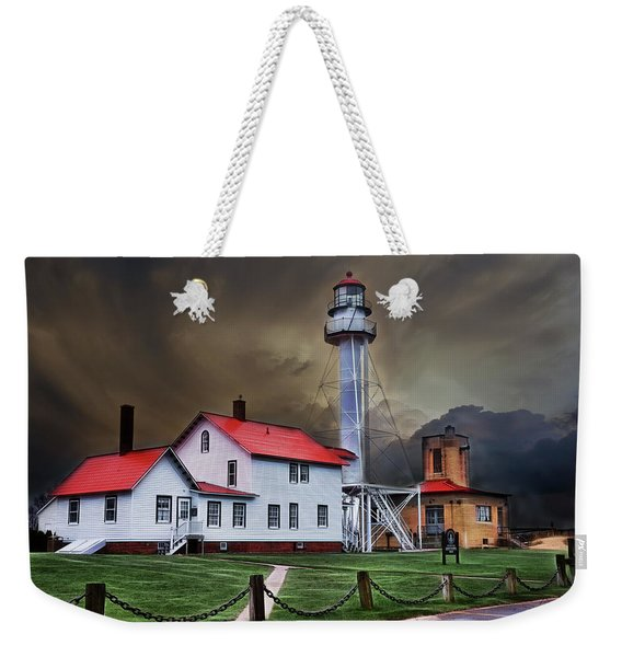 Whitefish Point Lighthouse Weekender Tote Bag