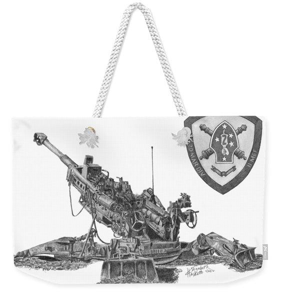 10th Marines 777 Weekender Tote Bag