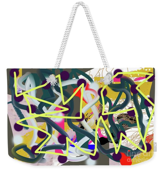 11-10-2018abcdefghijklmno Weekender Tote Bag