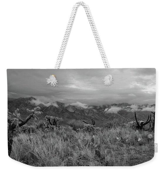 12-26-18 Snow Storm Weekender Tote Bag