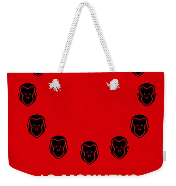 12 Monkeys Weekender Tote Bag