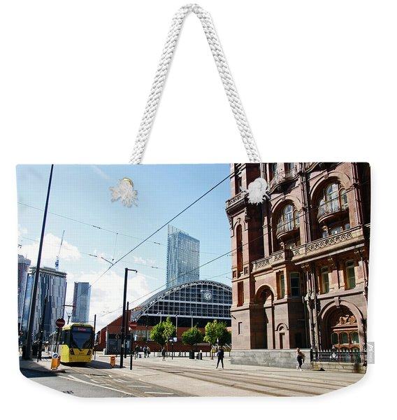 13/09/18  Manchester.  Lower Mosley Street. Weekender Tote Bag