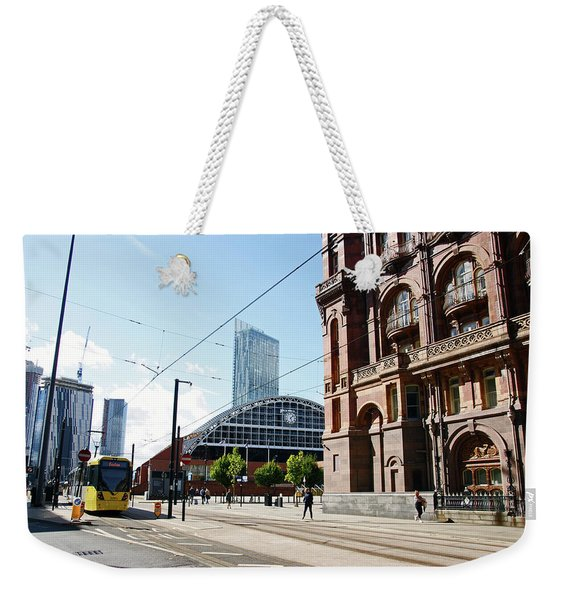 13/09/18  Manchester.  Lower Mosley Street. Weekender Tote Bag