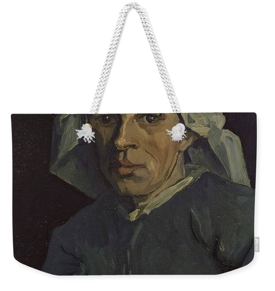 Head Of A Woman Weekender Tote Bag