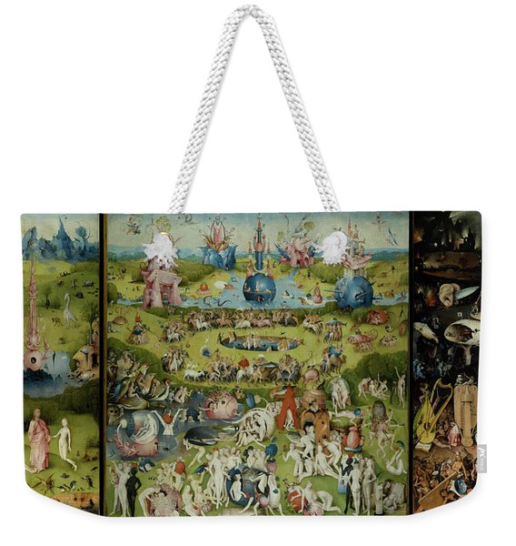 The Garden Of Earthly Delights Weekender Tote Bag