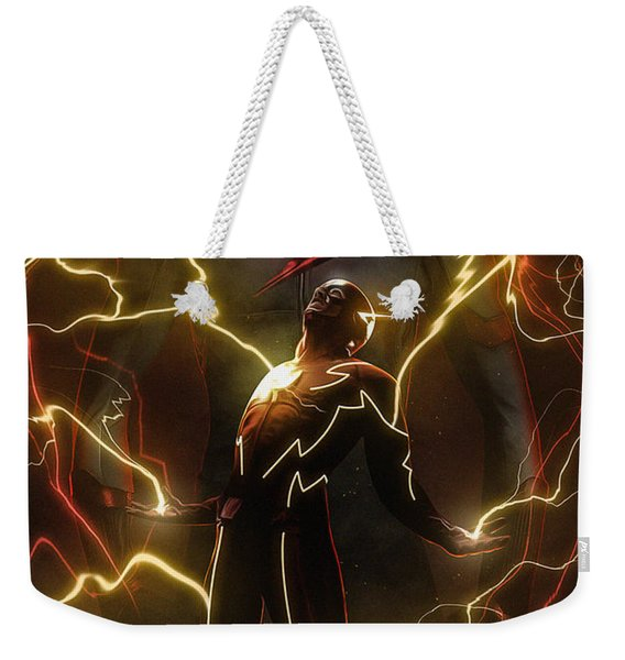 Flash Weekender Tote Bag