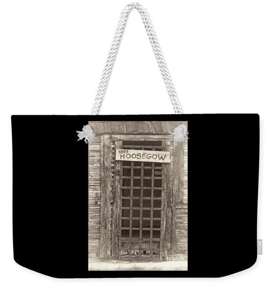 1893 Hoosegow Weekender Tote Bag