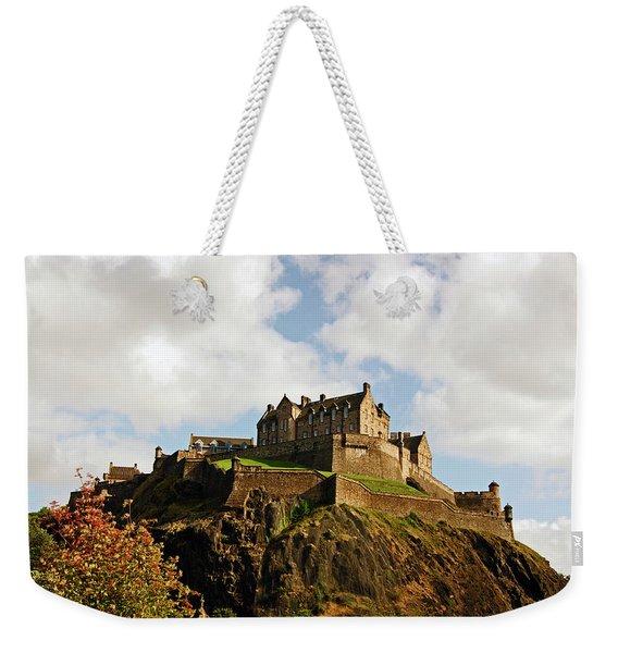 19/08/13 Edinburgh, The Castle. Weekender Tote Bag