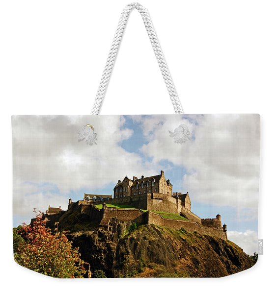 19/08/13 Edinburgh, The Castle. Weekender Tote Bag