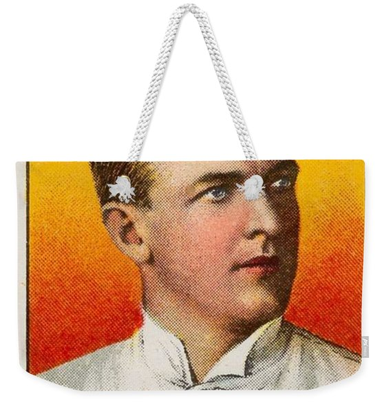 1909 11 T206 Sweet Caporal 150 30 Christy Mathewson  Portrait  Weekender Tote Bag