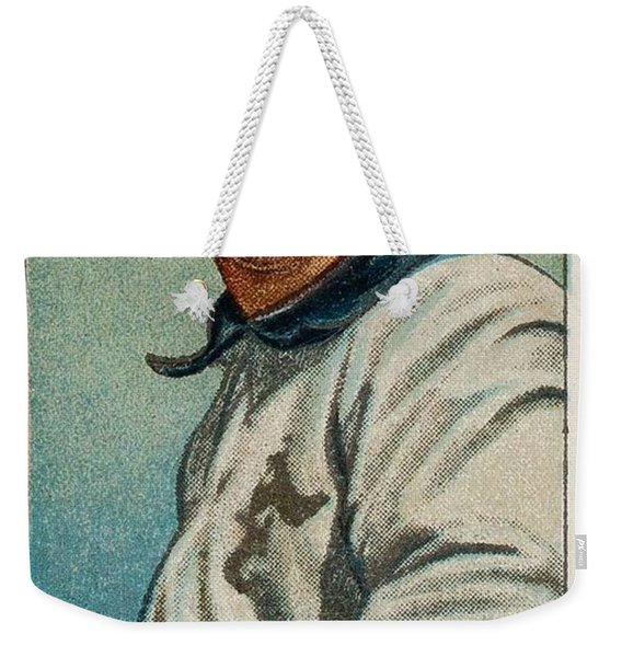 1909 11 T206 Sweet Caporal 350 25 Cy Young  Glove Shows  Weekender Tote Bag