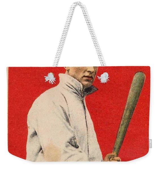 1915 Cracker Jack Ty Cobb Weekender Tote Bag