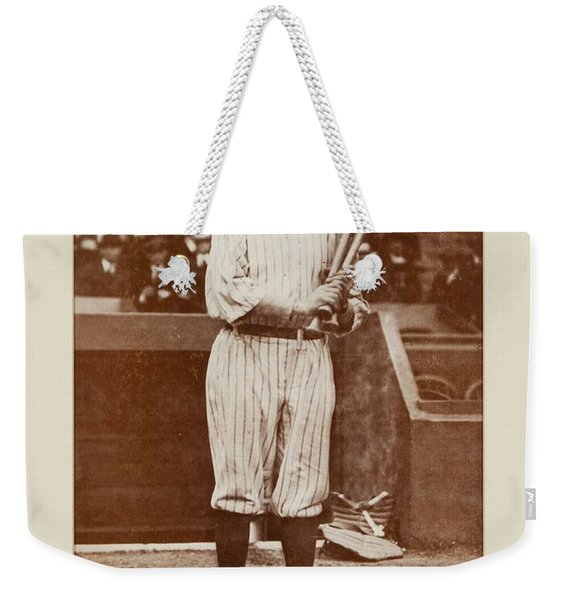 1930 S Babe Ruth Signed Weekender Tote Bag