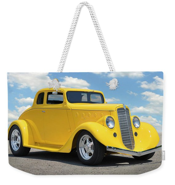 1935 Willys Coupe Weekender Tote Bag