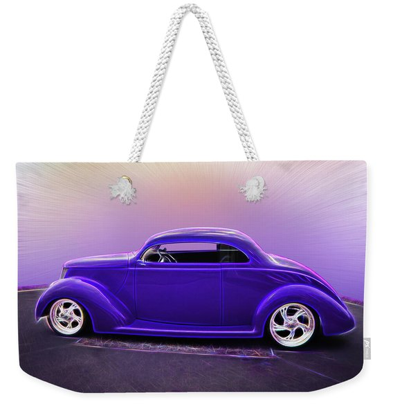 1937 Ford Coupe Weekender Tote Bag