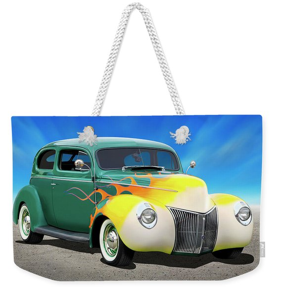 1940 Ford Coupe Weekender Tote Bag