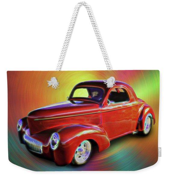 1941 Willis Coupe Weekender Tote Bag