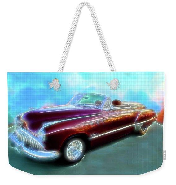 1949  Buick Convertable Weekender Tote Bag