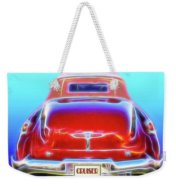 1949 Buick Cruiser Weekender Tote Bag