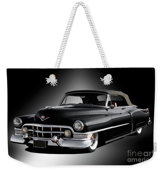 1951 Cadillac Series 62 Convertible Weekender Tote Bag