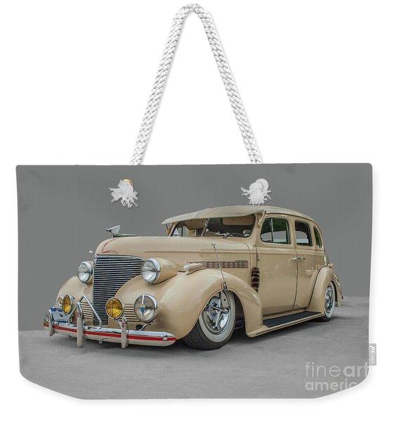 1939 Chevrolet Master Deluxe Weekender Tote Bag