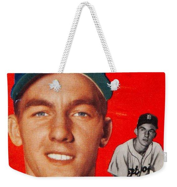 1954 Topps Al Kaline Weekender Tote Bag