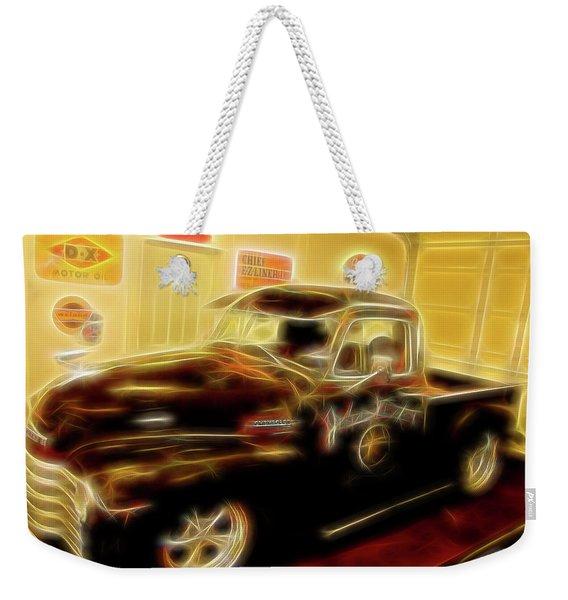 1955 Chevy Truck Weekender Tote Bag