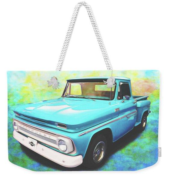 1965 Chevy Truck Weekender Tote Bag