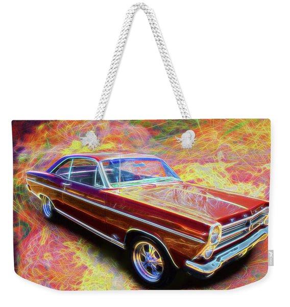 1966 Ford Fairlane Weekender Tote Bag