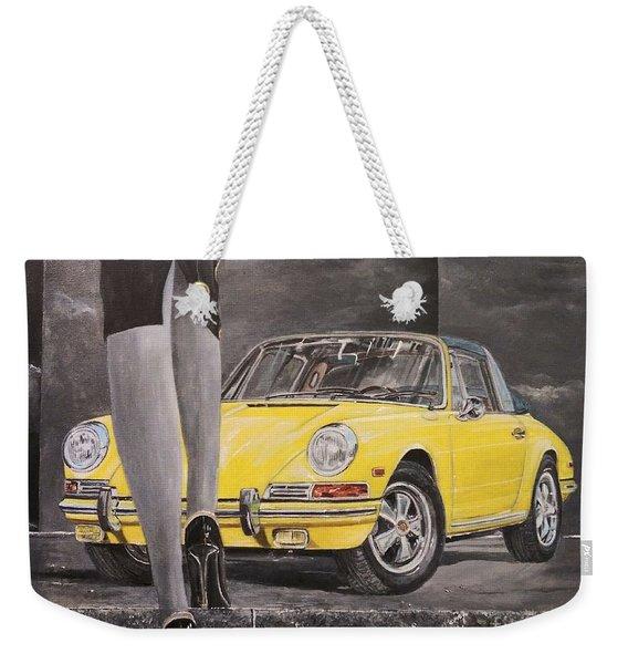 1968 Porsche 911 Targa Weekender Tote Bag