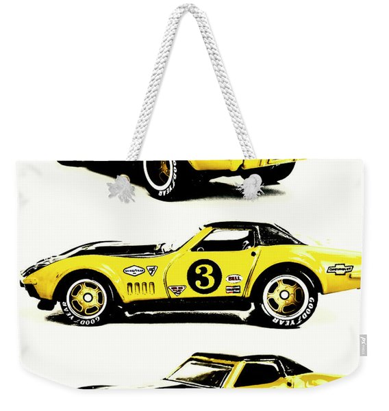 1969 Chevrolet Copo Corvette Weekender Tote Bag
