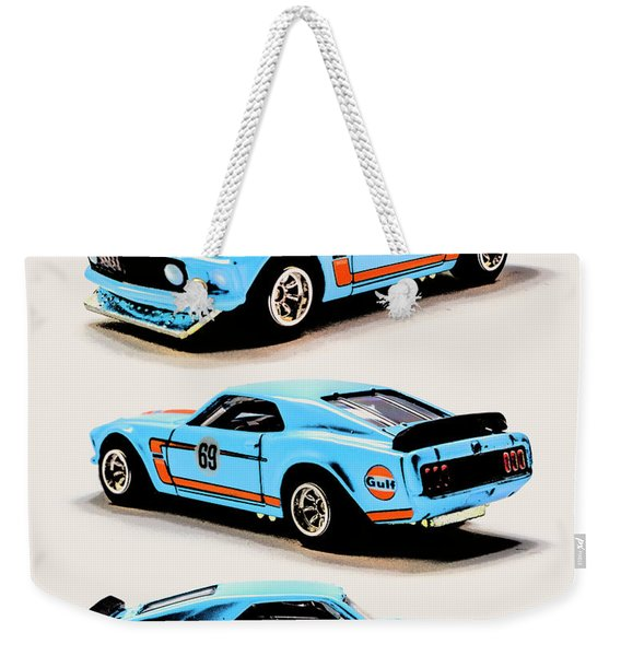 1969 Ford Mustang Boss 302 Weekender Tote Bag