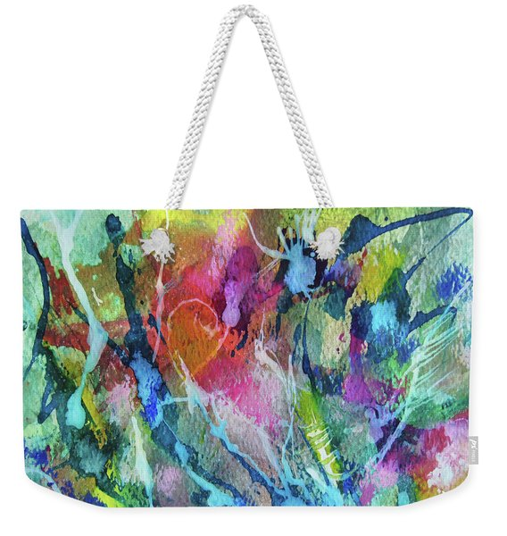 Abstract 224 Weekender Tote Bag
