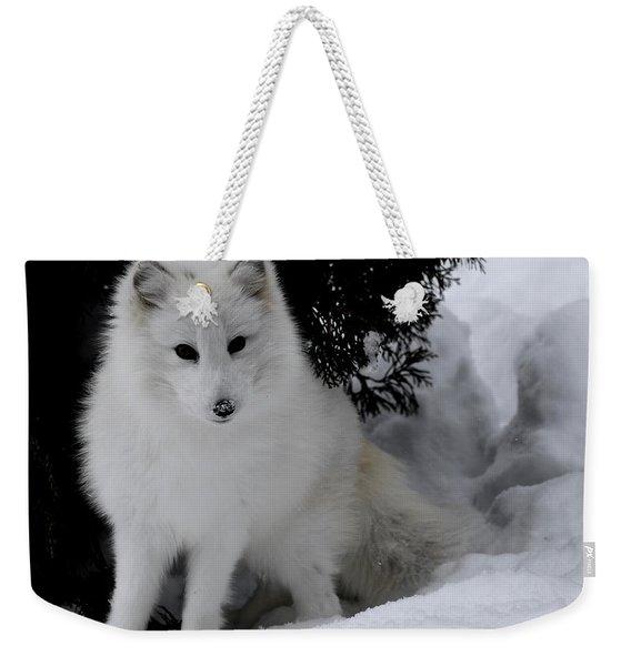 Artic Fox Weekender Tote Bag
