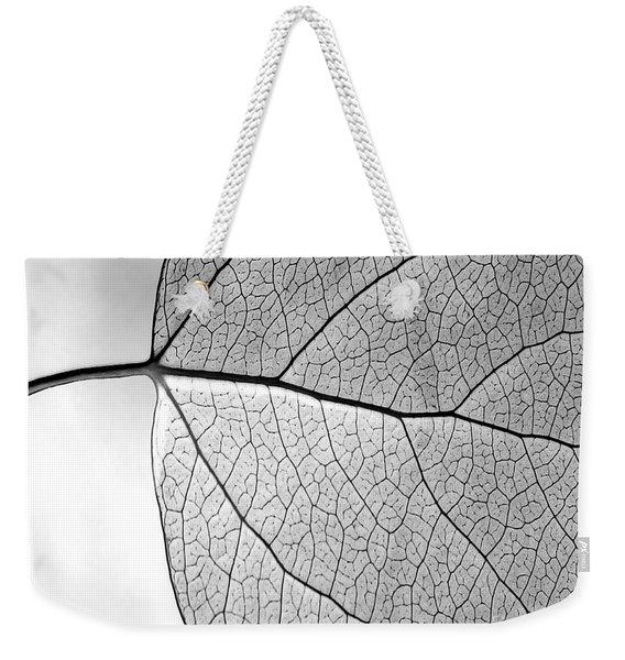 Aspen Leaf Veins Weekender Tote Bag
