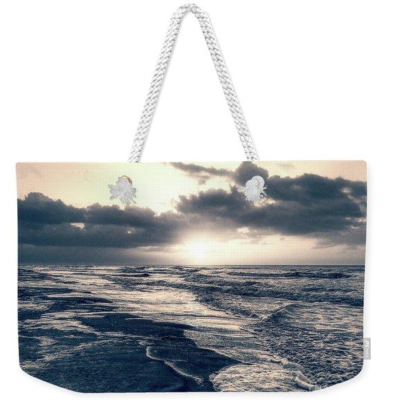 Atlantic Ocean Sunrise Weekender Tote Bag