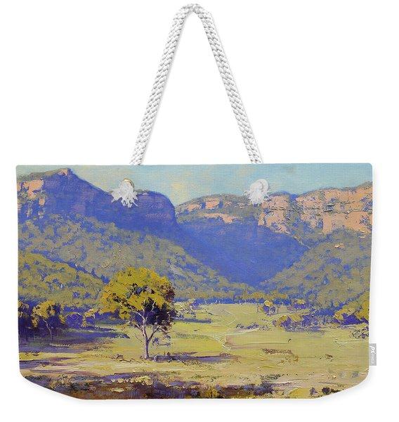 Capertee Valley Australia Weekender Tote Bag