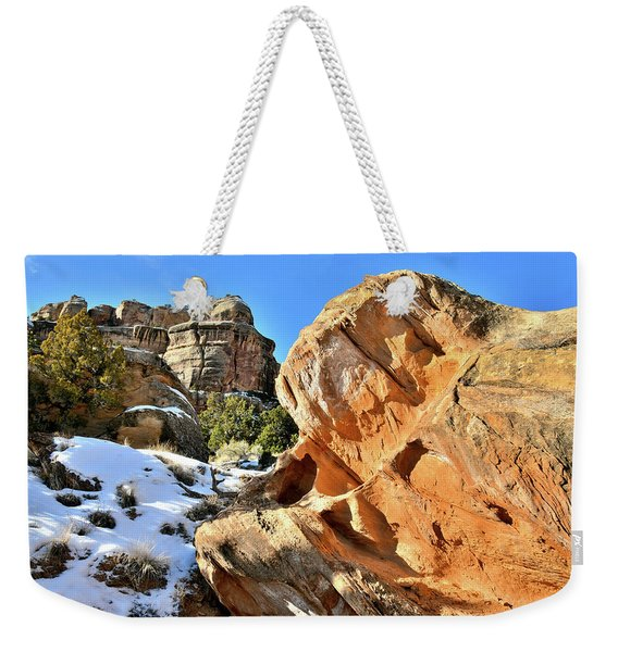 Colorful Colorado National Monument Weekender Tote Bag