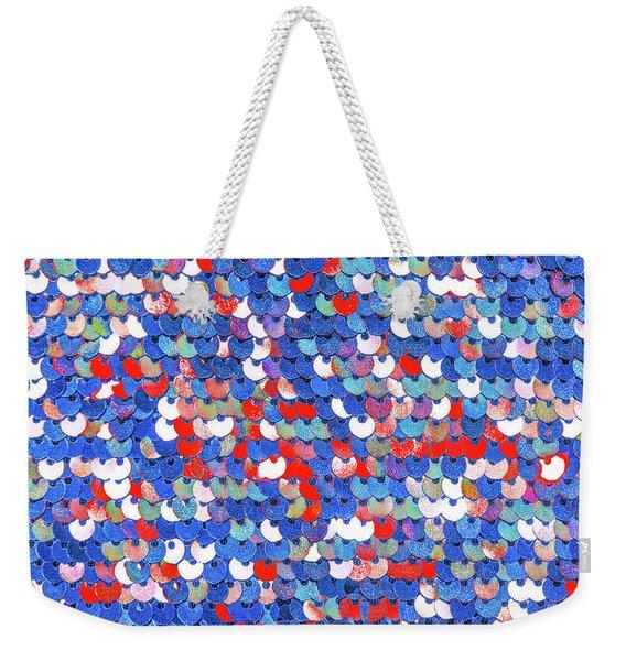 Funky Sequins Weekender Tote Bag