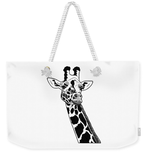 Giraffe - Ink Illustration Weekender Tote Bag