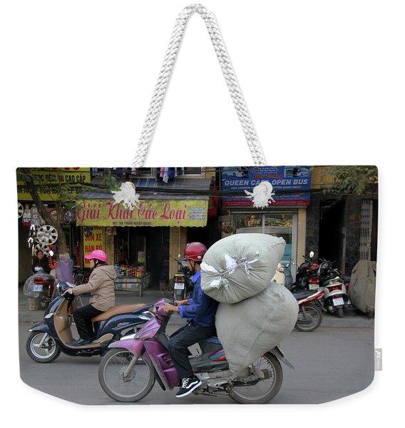 Hanoi, Viet Nam Weekender Tote Bag