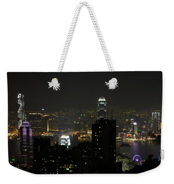 Hong Kong China Weekender Tote Bag