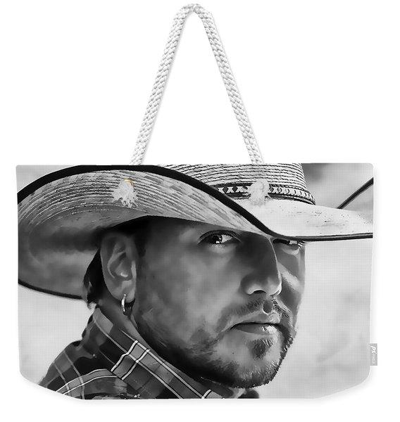 Jason Aldean Weekender Tote Bag