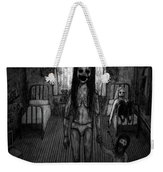 Jessica And Her Broken Doll - Artwork Weekender Tote Bag