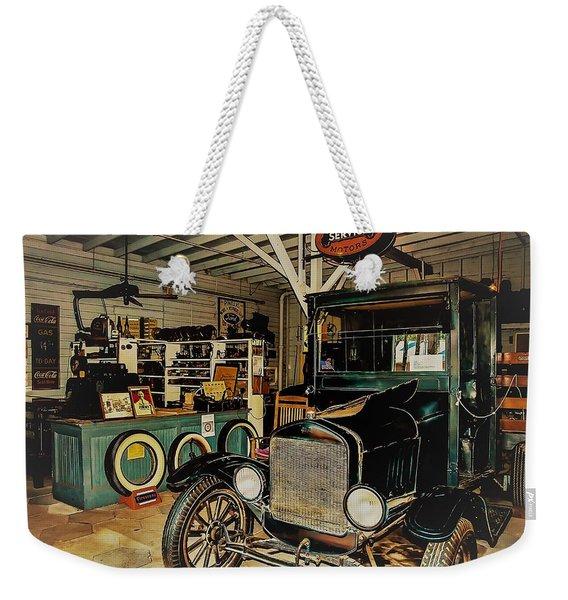 My Garage Weekender Tote Bag