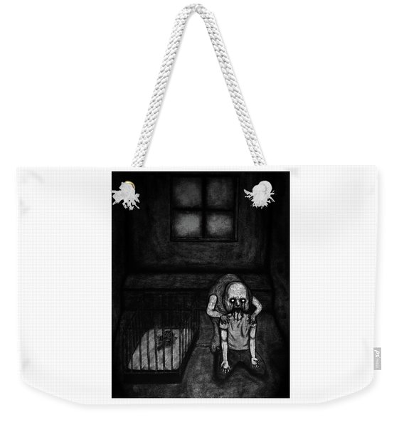 Nightmare Chewer - Artwork Weekender Tote Bag